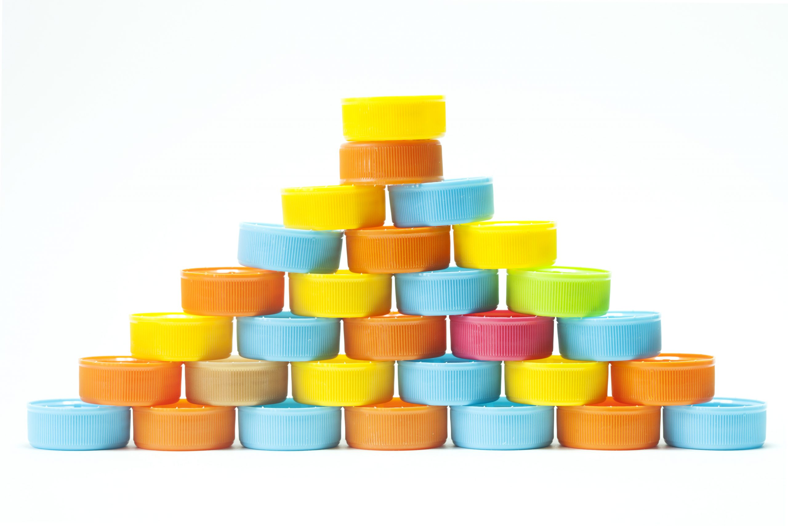 colourful caps